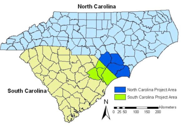 "Mapping and Assessing Geographically Isolated Wetlands in the Southeast Coastal Plain – Southeast Isolated Wetlands Assessment ""SEIWA"""